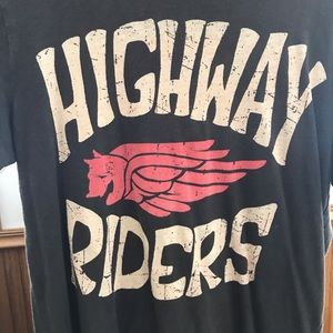 Highway 🛣 Riders T-Shirt. Medium.